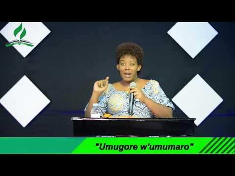 """""""Umugore w'umumaro"""" Pastor Julienne Kabanda"""