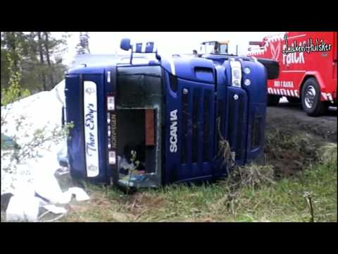 scania crash