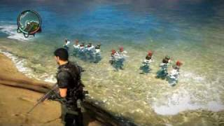 Just Cause 2 Fun: Beach Party