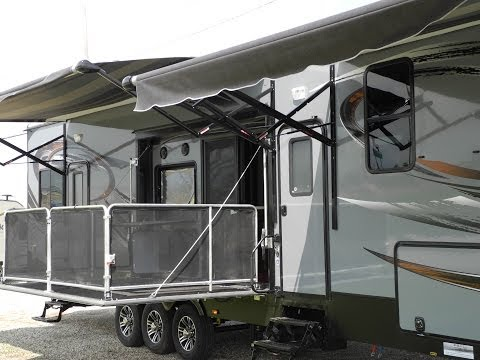2015 Heartland Cyclone 4200 Fifth Wheel Toy Hauler i94RV
