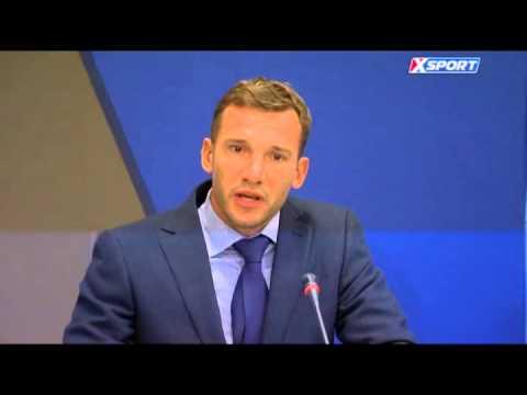 Речь Шевченко об умерших футболистах