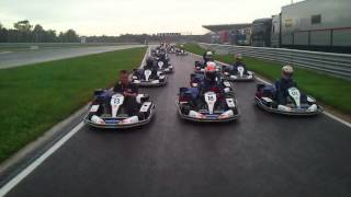 Moscow raceway carting