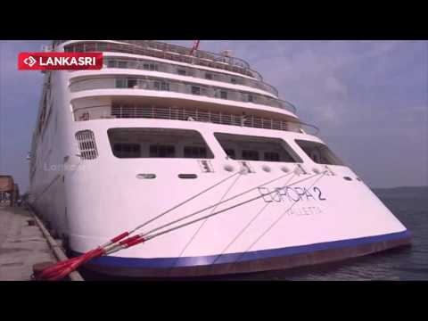Europa 2 Ship Visit at Trincomalee