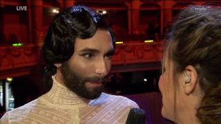 Conchita beim SemperOpernball - Interview nach dem Auftritt