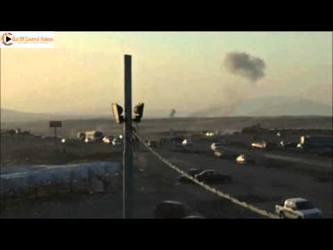 First video of US air strike aftermath in Northern Iraq