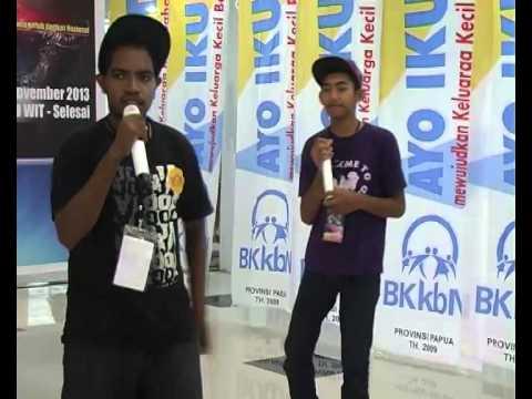 Lomba Rap bkkbn papua 2013