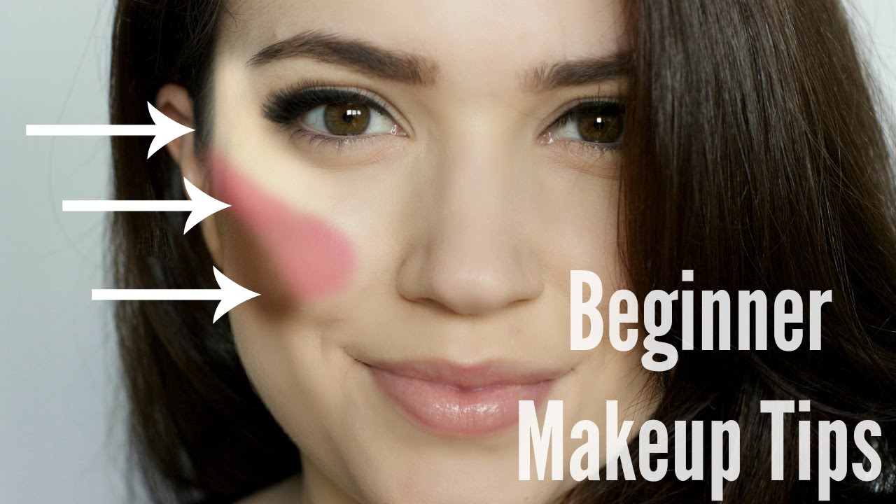 Beginner Makeup Tips & Tricks - YouTube