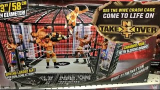 BREAKING NEWS: NXT CRASH CAGE MATCH ANNOUNCED? WWE ELIMINATION CHAMBER SET AT TOYRUS!