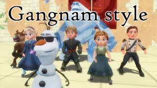 [MMD] Frozen KIDS Gangnam Style! [Dancing Episode 4]