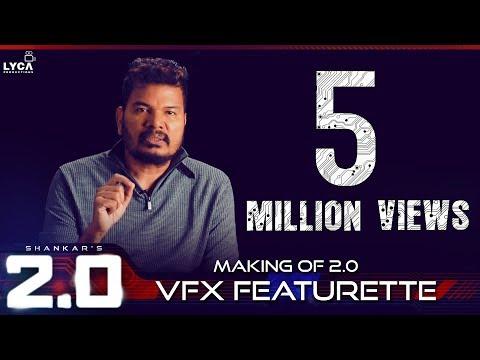 Making of 2.0 VFX Featurette | Rajinikanth, Akshay Kumar | Shankar | A.R. Rahman | Lyca Productions thumbnail