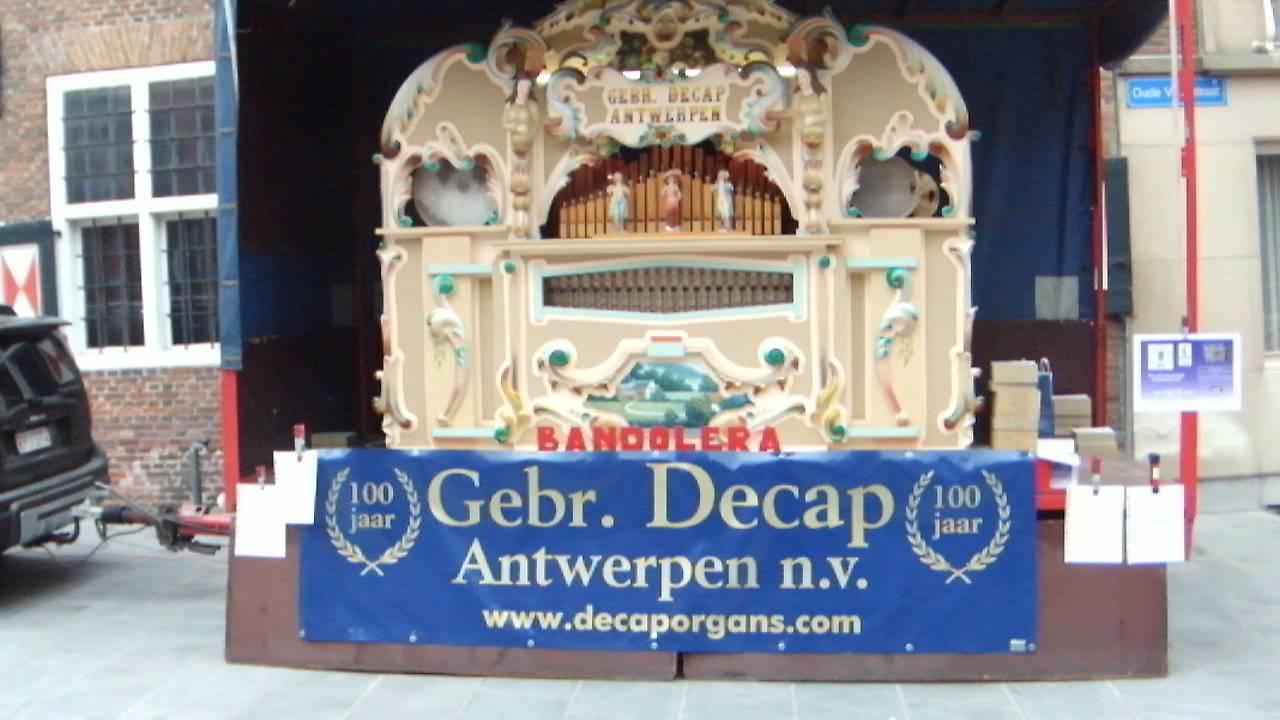 Decap Organ Antwerp* Decap Organ - Evergreen Sound