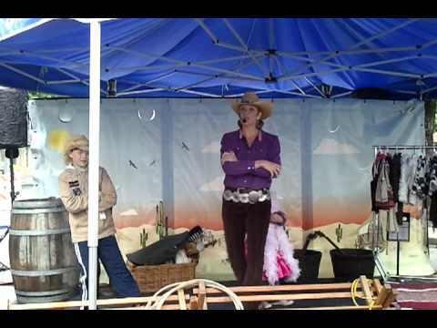 Ava Dancing At Meeker Days video