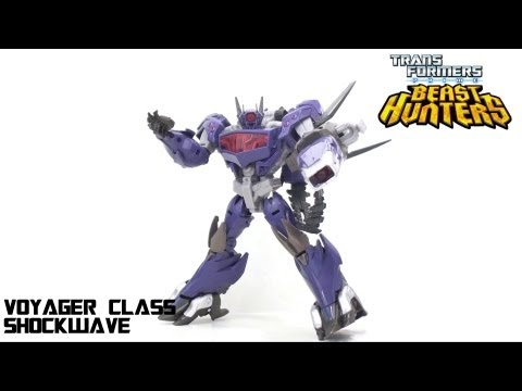 Video Review of the Transformers Prime: Beast Hunters Shockwave