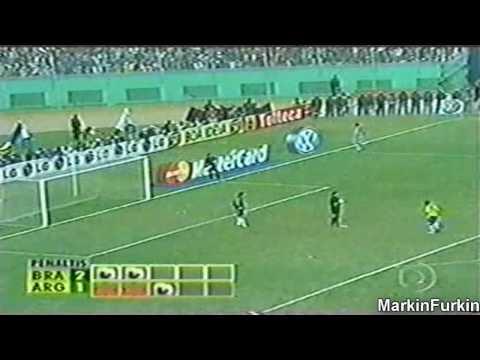 Copa América 2004 - Final Brasil x Argentina - Pênaltis