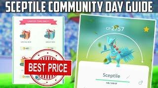 Sceptile Community Day Guide For Pokemon Go!