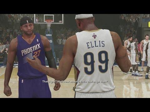 NBA 2K14 PS4 My Career - Throwing Lobs Again!