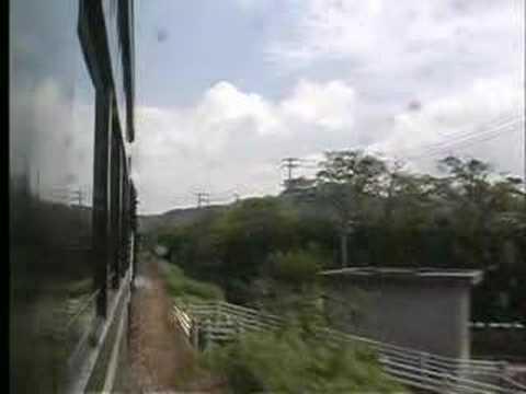 車窓:SLやまぐち マイテ492 湯田温泉→山口 2000.6.18
