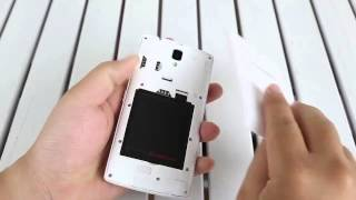 How to Insert SIM Card and Micro Sd Card Lenovo A2010