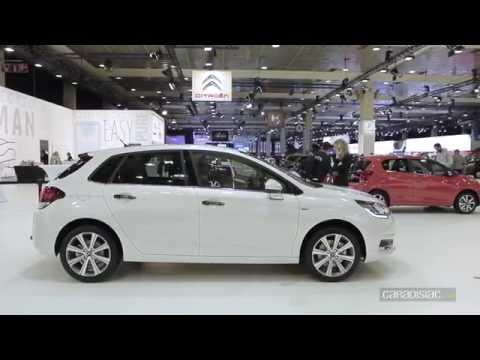 Salon de Bruxelles : Citroën C4 restylée