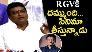 Comedian Prudhviraj Sensational Comments On RGV  Over NTR Biopic | Lakshmi's NTR