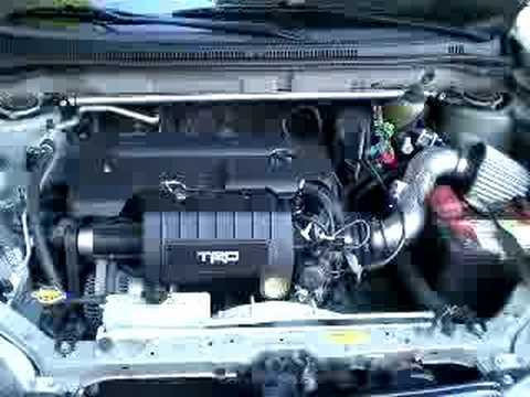 Trd Supercharged Corolla S Engine Bay Youtube