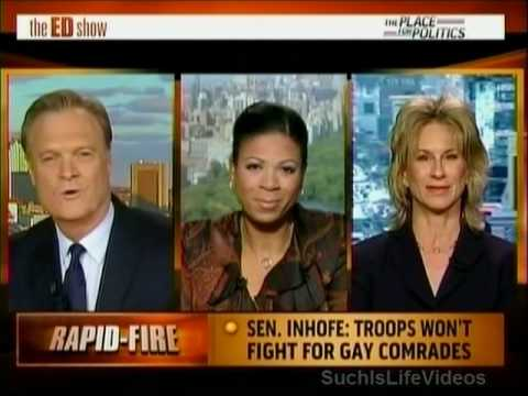 Senator Jim Inhofe: Troops Won't Fight For Gay Comrades