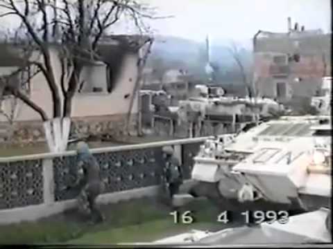 The war in Bosnia - Genocide in the village called Ahmici ( unseen footage )