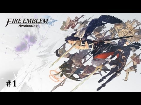 Lets Play Fire Emblem Awakening #1 Hold a sec seeing the future.