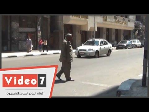 بالفيديو.. بعد «حملة الإزالة ».. تواجد أمنى وسيولة مرورية بوسط البلد