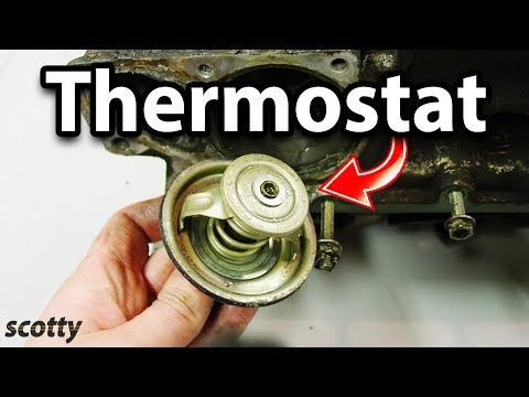 Changing A Bad Thermostat On Your Car