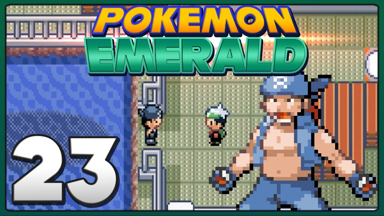 how to go on water in pokemon emerald
