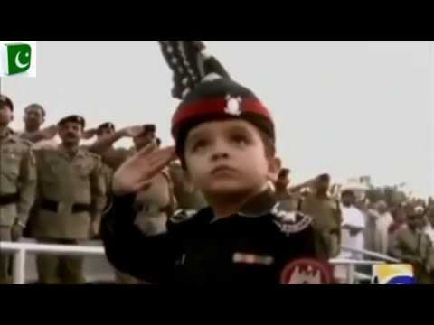 Pakistani Little Solider Abdullah || Wagha Border Amazing Prade video