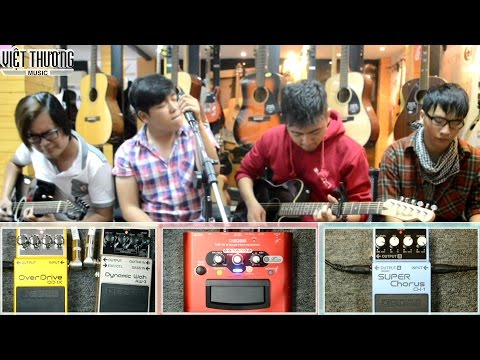 Hướng Dẫn Sử Dụng BOSS Effects (Phơ) Cho Guitar Acoustic P1