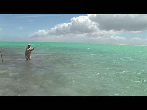 Fly Fishing For GT's On Christmas Island
