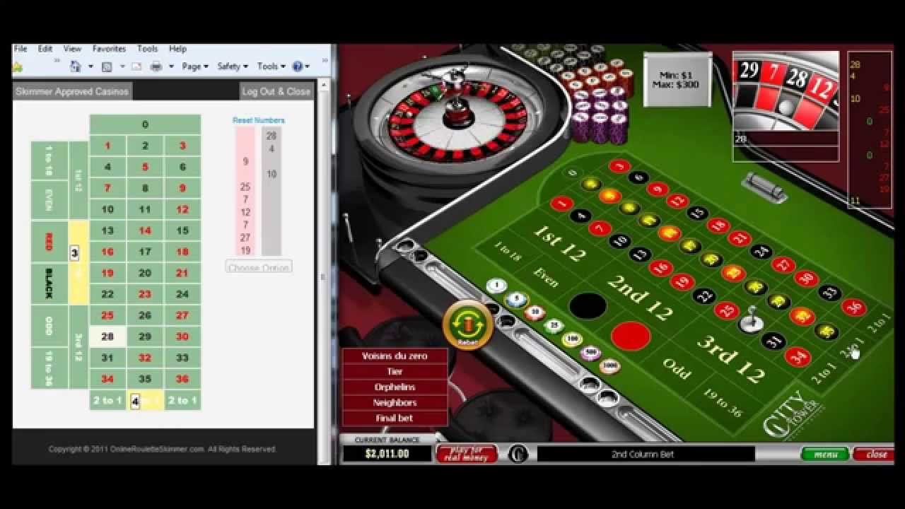 Casino roulette calculator