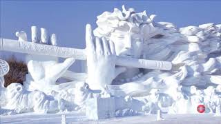 Snow and Ice Festival in the World ( Harbin International Ice and Snow Sculpture Festival )