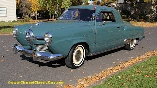1950 Studebaker Champion Business Coupe. Charvet Classic Cars