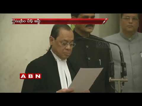 Justice Ranjan Gogoi Takes Oath as The 46th Chief Justice Of India | ABN Telugu