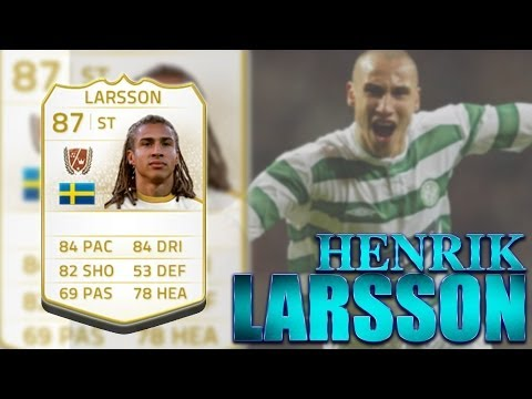 LEGENDS PLAYER SPOTLIGHT - HENRIK LARSSON - FIFA 14 ULTIMATE TEAM on XBOX ONE
