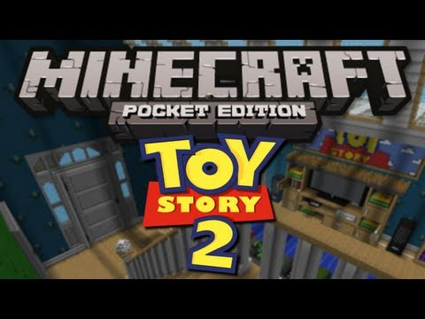 TOY STORY MAP Minecraft Pocket Edition