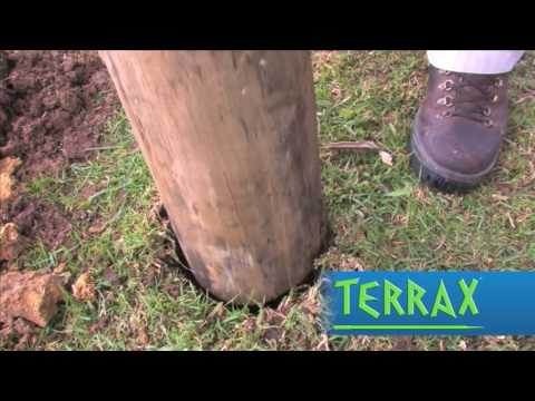 How to dig and compact post holes