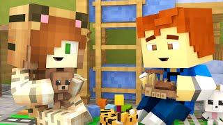 Minecraft Daycare - TINA'S HOUSE !?