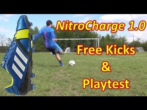 Adidas NitroCharge 1.0 Review - Freekicks + Play Test