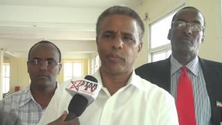 Wasiirka Duulisa Somaliland oo ka hadlay Horumarka alga Samaaey madaarka Cigaal