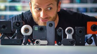 Which 360 Camera Should You Buy In APRIL 2018?!
