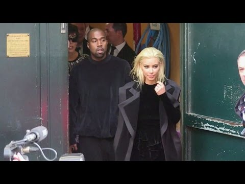Kim Kardashian and Kanye West generate absolute chaos in the streets of Paris