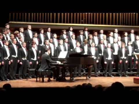 University of Michigan Mens Glee Club 150th Anniversary Con