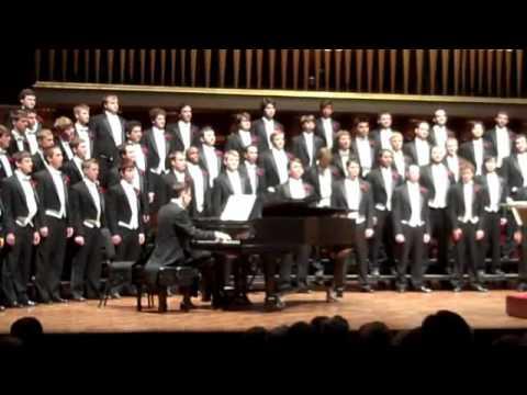 University of Michigan Mens Glee Club 150th Anniversary Con