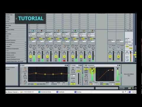 Ableton Tutorial:  BASIC |  DEEP / TECH HOUSE Tutorial - How to create TECH HOUSE TRACK in Ableton