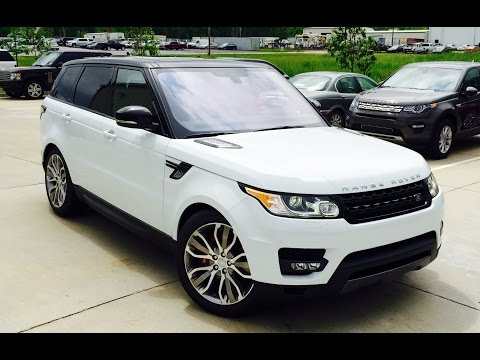 2016 Range Rover Supercharged Dynamic Full Review /Exhaust /Start Up /Short Drive